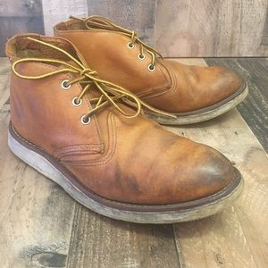 RED WING Heritage 3140 Work Chukka Boots Mens 9D